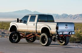 Lifted 2012 Ford F-250 ...  A