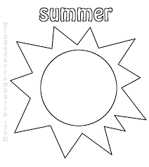 Small Picture Summer Sun Coloring Page GetColoringPagescom