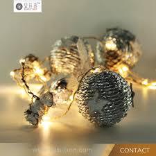 2017 hot hemp rope warm white fairy string light for home decoration led copper string lights professional led novelty gift led lights