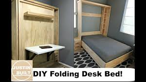 diy 20 folding desk for murphy bed