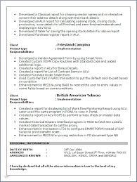 professional resume   resume sample of sap technical consultant in    download resume format in pdf   word doc