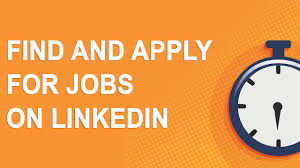 Find And Apply For Jobs On Linkedin 2017 Youtube