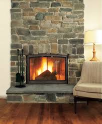 stone veneer fireplace panels refacing a with dry stack stone veneer fireplace diy