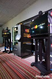 Mastercard Priceless Surprises Vending Machine Gorgeous Startups Meet Tech Leaders And Advisers At Mashable House In Austin