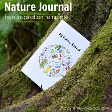Nature Journal Free Printable Template Adventure In A Box