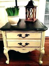 small side table with shelf coffee tables drawers end drawer distressed accent white