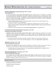 VP Sales Sample Resume Executive Resume Writer VP Director CTO Gorgeous Director Of Sales Resume