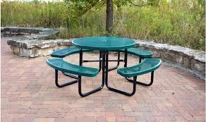 cityâ series round picnic table green