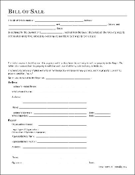Bill Of Sales Generic Interesting Bill Of Sale Pdf Real Estate Forms