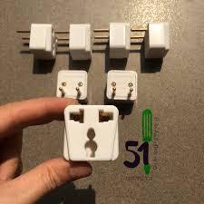 Đầu nối ổ cắm 3 chân Vinakip Np 101G | Ổ cắm chuyển 2 chân sang 3 chân | Ổ  cắm nối đa năng - Ổ cắm điện Thương hiệu vinakip