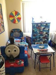 Thomas the Train Bedroom Set w/Toddler Bike | eBay