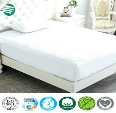plastic mattress protector. Mattress Cover Plastic Cool Multi Needle Quilting Fitted Bamboo Charcoal Protector