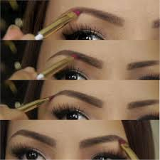 makeup tutorials how to do your own eyebrows
