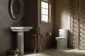 image of modern pedestal sink ideas