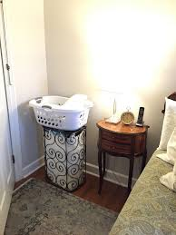 bedroom hamper bench bathroom
