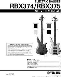 yamaha rbx374 rbx375 rbx 374 rbx 375 rbx service manual pligg yamaha rbx374 rbx375 rbx 374 rbx 375 rbx service manual