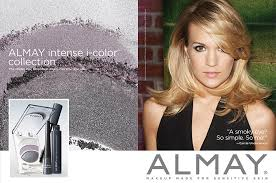 carrie underwood for almay makeup