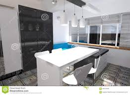 Autocad For Kitchen Design Kitchen Design Stock Illustration Image 66910468