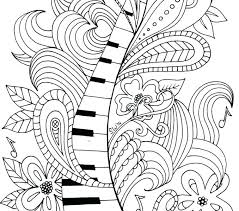 Free Music Coloring Pages Fudeuinfo