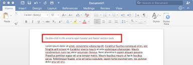 Microsoft Word Apa Header Public Knowledge How Do I Create Headers In Microsoft Word