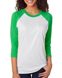 Next Level Raglan Shirt Size Chart Next Level 6051 Unisex Triblend 3 4 Sleeve Raglan Tee