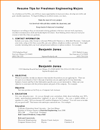Sample College Resume 100 college freshman student resume samples graphicresume 51