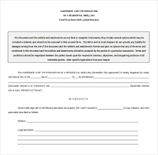 Contract Template Word