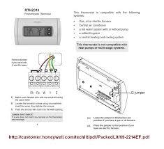 honeywell thermostat diagram wiring efcaviation com honeywell rth2300/rth221 wiring diagram at Honeywell Thermostat Rth2300b Wiring Diagram