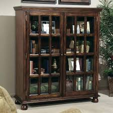 antique bookcases with glass doors model