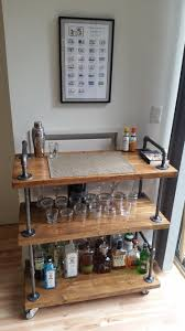 industrial furniture diy. Contemporary Industrial Industrial Bar Cart HttpswwwredditcomrDIY Comments4a5z6findustrial_bar_cart_wood_black_pipe In Furniture Diy U