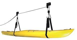 rad sportz kayak hoist quality garage storage canoe lift