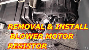 chevy tahoe blower motor resistor replacement 2000 chevy tahoe blower motor resistor replacement