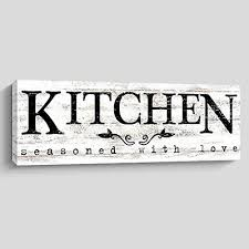 plaques signs kitchen wall art baked