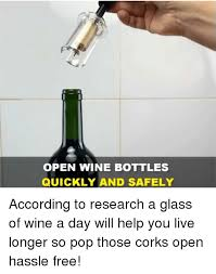 dank pop and wine open wine bottles quickly and safely according to research