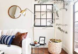 Miss in the midwest if you can't pick just one color for your walls, stripes are a fun and unique family room idea. 20 Chic Living Room Wall Decor Ideas
