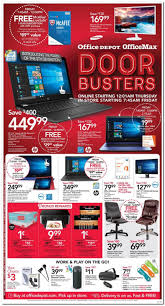 Office Depot And Officemax Black Friday 2018 Ads Deals And Sales