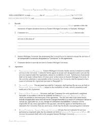 Agreement Templates Business Contract Template 50 Free Independent Contractor Agreement Forms Templates
