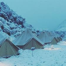bell tent snow fly