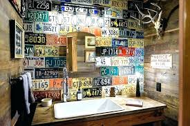 Man cave bathroom Rustic Country Man Cave Bathrooms Bathroom Home Design Inspiration Ideas And Pictures Rug Decorating Pofcinfo Man Cave Bathroom Ideas Centrovirtualco