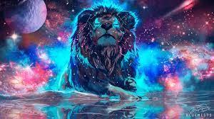 1920x1080 Lion Artistic Colorful 1080P ...