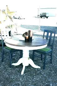 dining tables distressed round dining table white chairs intended black distressed round dining table distressed black