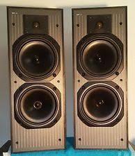 kef hts3001. kef c40 3-way speakers (pair) kef hts3001