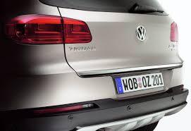 <b>Накладка на</b> крышку багажника Volkswagen Tiguan (5N ...