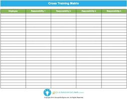 Employee Training Matrix Template Excel Employee Cross Training Template Affordacart Com