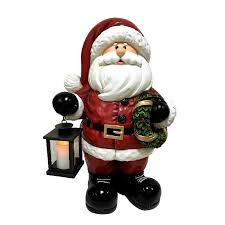 Holiday Living Lighted Lantern Holiday Living 25 6 In Greeter With Yellow Led Lights At