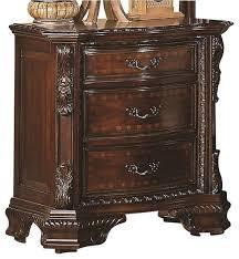 cherry wood nightstand. Coaster Maddison Nightstand In Brown Cherry Finish Wood