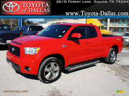 2009 Toyota Tundra TRD Sport Double Cab in Radiant Red - 072473 ...