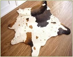 faux cow skin rugs