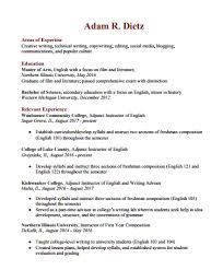 A Professional Resume Extraordinary Professional Resume Adam R Dietz