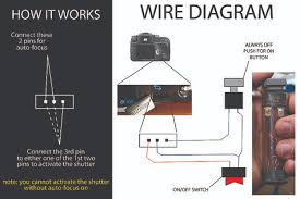 diy homemade sony alpha wired remote wire diagram a photo on diy homemade sony alpha wired remote wire diagram